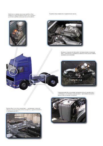 Самосвальный комплект для гидрофикации тягача