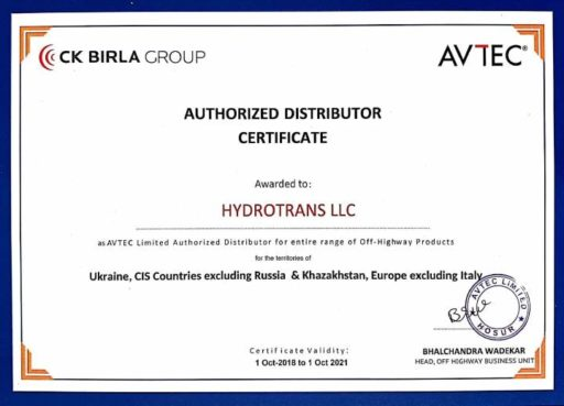 Dealer Certificate Signed Hydrotrans-001