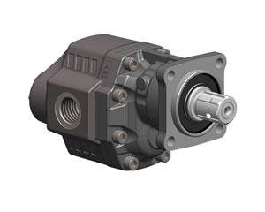 Шестеренчатые насосы LTH ISO, рабочий объем от 43 до 100 см³/об (л/мин при 1000 об/мин), максимальное рабочее давление до 230 бар
