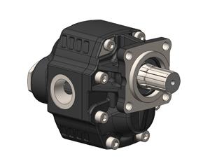 Шестеренчатые насосы NPGH ISO SHORT рабочий объем от 63 до 150 см³/об (л/мин при 1000 об/мин) максимальное рабочее давление до 290 бар, присоединительный стандарт ISO