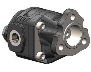 Шестеренчатые насосы NPLU 13 DIN, UNI (3-отверстия) 13 DIN ( 13 шлицов и вал 19х22), рабочий объем от 10 до 40 см³, максимальное рабочее давление до 280 бар