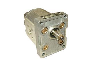 Индустриальная серия: шестеренчатый насос 1 PL рабочие объемы от 1,2 до 6,5 см³ об (л/мин при 1000 об/мин), давление до 280 бар.
