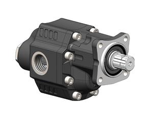 Шестеренчатые насосы LTMH ISO рабочий объем от 90 до 120 см³/об (л/мин при 1000 об/мин) максимальное рабочее давление до 230 бар, присоединительный стандарт LTMH ISO.