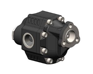 Шестеренчатый насос LTMH UNI рабочий объем от 90 до 120 см³/об (л/мин при 1000 об/мин) максимальное рабочее давление до 230 бар, присоединительный стандарт LTMH UNI