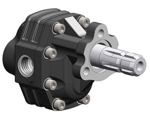 Шестеренчатый насос NPH UNI ASAE 1-3/8 рабочий объем от 17до 123 см³/об (л/мин при 1000 об/мин) давление до 325 бар