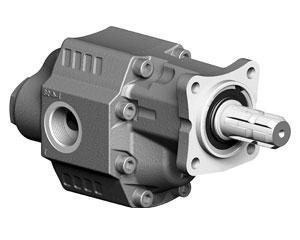 Шестеренчатые насосы LTMH ASAE-MALE рабочий объем от 90 до 120 см³/об (л/мин при 1000 об/мин) максимальное рабочее давление до 230 бар, присоединительный стандарт LTMH ASAE-MALE