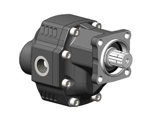 Шестеренчатые насосы NPGH ISO рабочий объем от 63 до 150 см³/об (л/мин при 1000 об/мин) максимальное рабочее давление до 290 бар, присоединительный стандарт ISO
